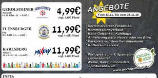Angebote bei Getränke Sönksen KW 47/48