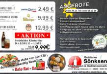 Angebote bei Getränke Sönksen KW 48/49