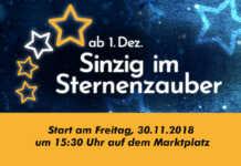 Sinziger Sternenzauber - Offizielle Eröffnung