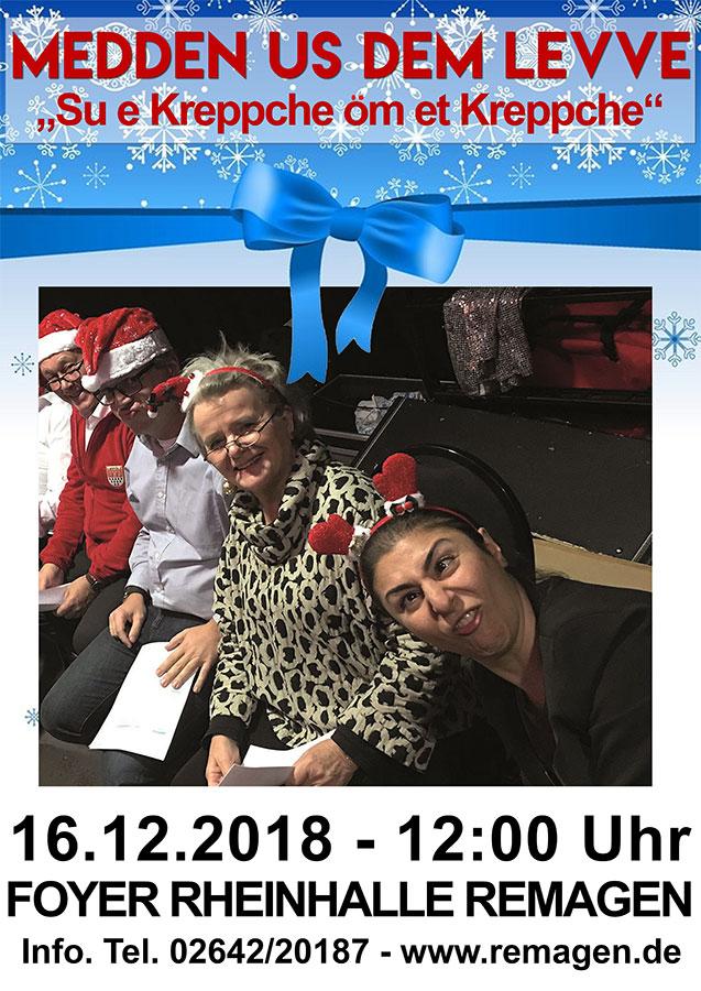 """Das Kölner Kabarett-Ensemble """"Medden us dem Levve"""""""