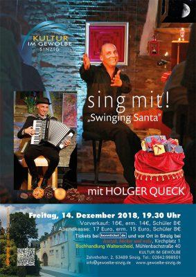 sing mit! Swinging Santa @ Gewölbe im Zehnthof | Sinzig | Rheinland-Pfalz | Deutschland