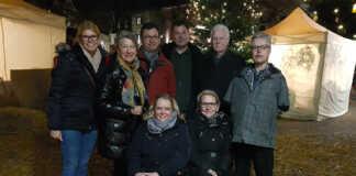 Wählergruppe Remagen WGR traf sich zum Nikolausmarkt