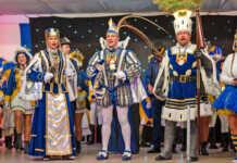 Ausgelassene Stimmung bei Feiere Danze Karneval
