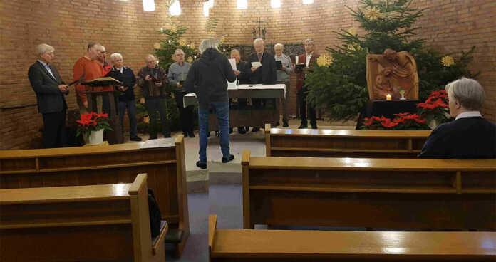 Männerchor Remagen sang im Annakloster und Krankenhaus