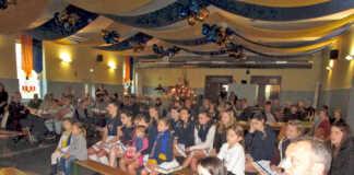 Weihnachtsfeier der Jugend der Närrischen Buben
