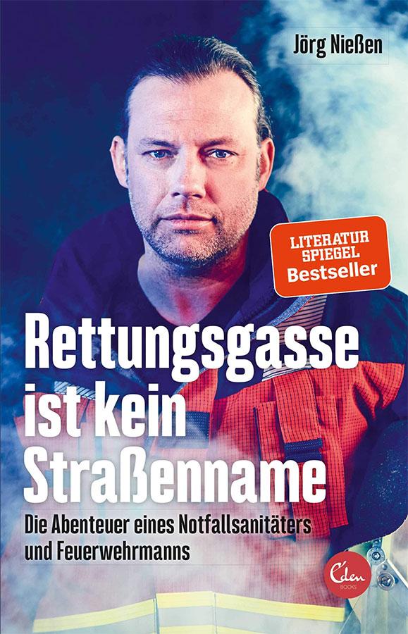 """Lesung mit Jörg Nießen """"Rettungsgasse ist kein Straßenname"""""""