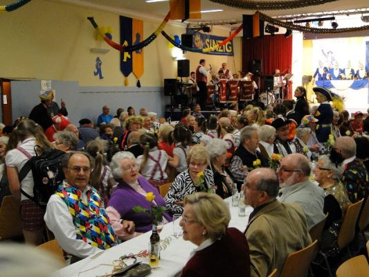 Unterhaltsame Sitzung der Sinziger Senioren im Helenensaal @ Helenensaal | Sinzig | Rheinland-Pfalz | Deutschland