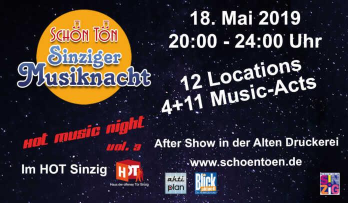 SchönTön - Sinziger Musiknacht 2019