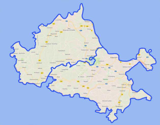 Zwangsfusion der Kreise Ahrweiler und Mayen-Koblenz offenbar vom Tisch