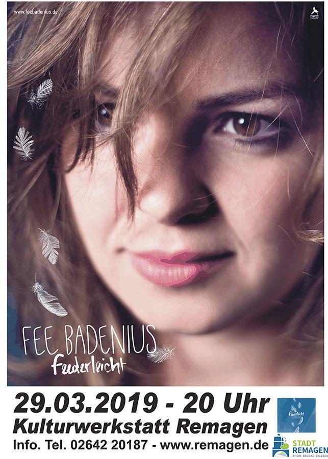 Fee Badenius: Liedermacherin mit Musik für Ohren, Kopf und Herz