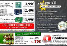 Angebote bei Getränke Sönksen KW 7/8