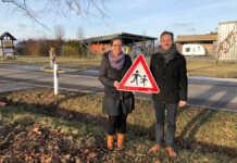 Neu in Oedingen: Querungshilfe im Gewerbegebiet