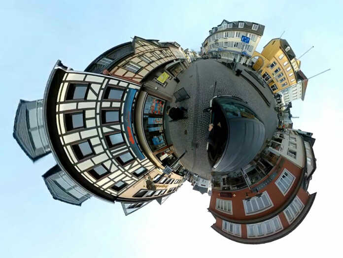 360° Fahrt durch Sinzig und Remagen - der Film