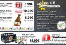Angebote bei Getränke Sönksen KW 6/7