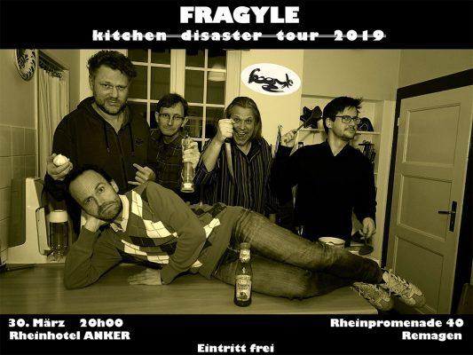 FRAGYLE die vielleicht älteste Schülerband Bonns @ Rheinhotel Anker | Remagen | Rheinland-Pfalz | Deutschland