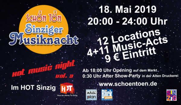 SchönTön - 4. Sinziger Kneipenmusiknacht @ Sinzig | Sinzig | Rheinland-Pfalz | Deutschland