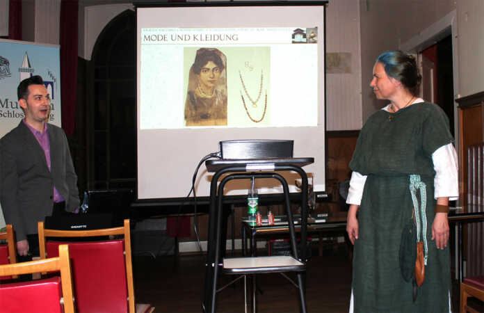 Turmgespräch im Schloss: Frauen am Limes