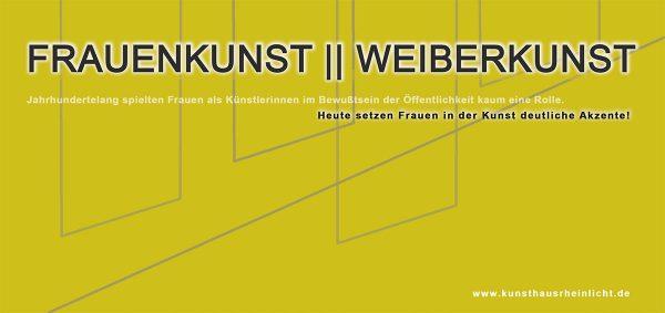 Frauenkunst / Weiberkunst 2019 @ Alte Druckerei | Sinzig | Rheinland-Pfalz | Deutschland