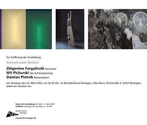 GEMEINSAM REISEN @ Künstlerforum Remagen | Remagen | Rheinland-Pfalz | Deutschland