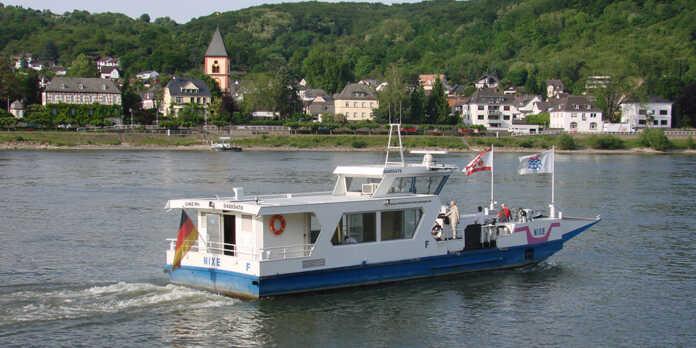 Fahrpläne der Färe Linz - Kripp und Remagen Erpel