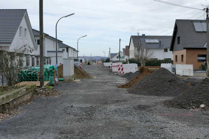 WGR zu Großbaustelle Straßenausbaubeitrag