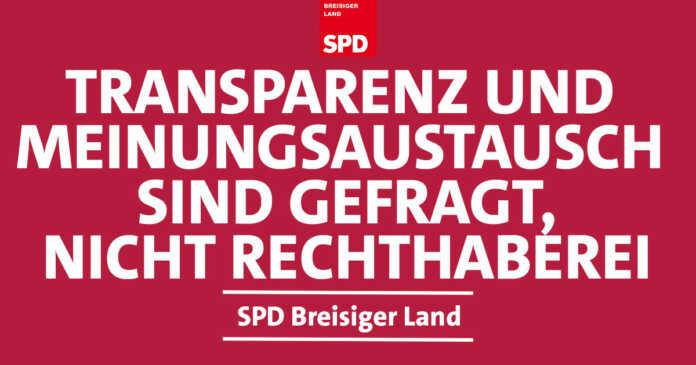 Bürgerdialog der SPD in Waldorf