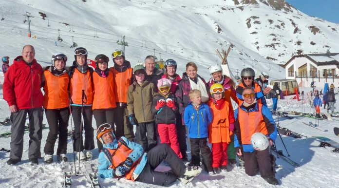 Turnverein Sinzig -Skijugend in Sölden