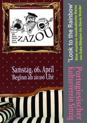 Trio ZAZOU im portugiesischen Kulturverein @ Portugiesischer Kulturverein | Sinzig | Rheinland-Pfalz | Deutschland