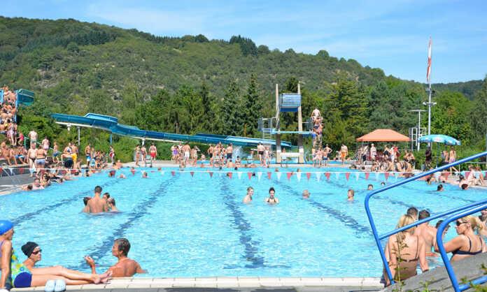 Geänderte Öffnungszeiten und Eintrittspreise im Freizeitbad Remagen