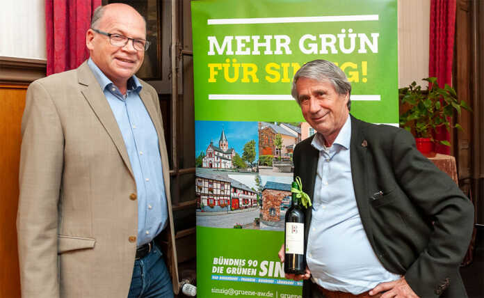 Radverkehrspapst Prof. Dr. Heiner Monheim referierte im Schloss
