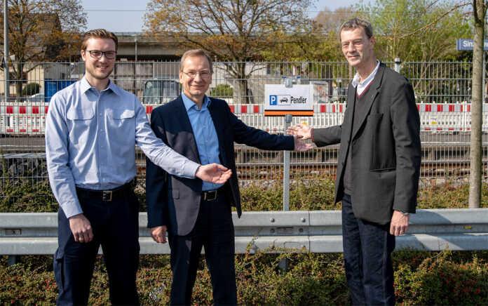 Vorübergehend 30 neue Pendlerparkplätze in Bahnhofsnähe