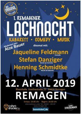 1. Remagener Lachnacht @ Rheinhalle Remagen   Remagen   Rheinland-Pfalz   Deutschland
