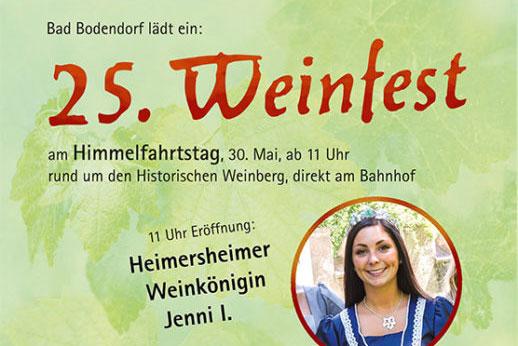 25. Erstes Weinfest an der Ahr @ Bad Bodendorf | Sinzig | Rheinland-Pfalz | Deutschland