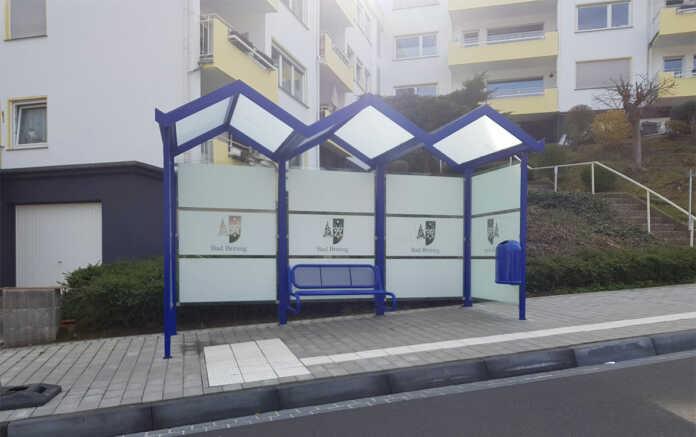 Neue Buswartehallen für Bad Breisig