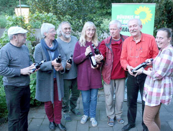 Remagener Grünen-Ratsmitglieder von Stefanie Jürries verabschiedet