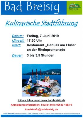 Kulinarische Stadtführung @ Bad Breisig | Bad Breisig | Rheinland-Pfalz | Deutschland