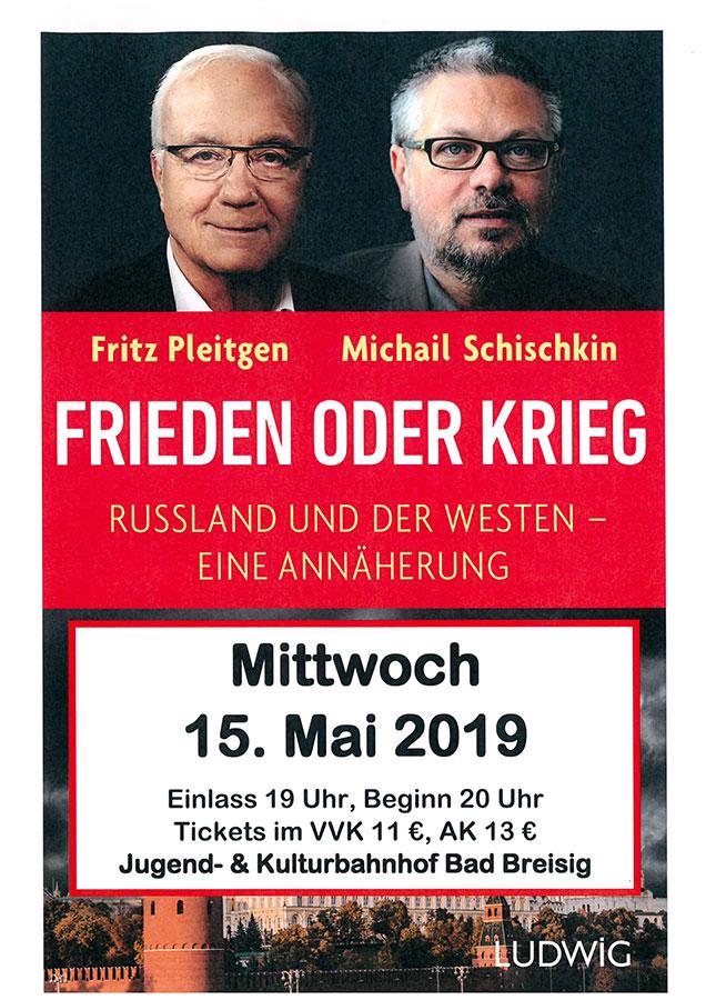 Fritz Pleitgen und Michail Schischkin