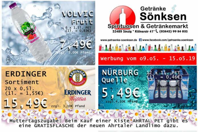 Angebote bei Getränke Sönksen KW 19/20