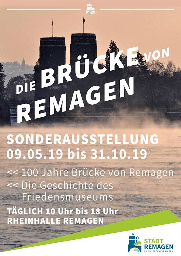 Sonderausstellung Brücke von Remagen in der Rheinhalle