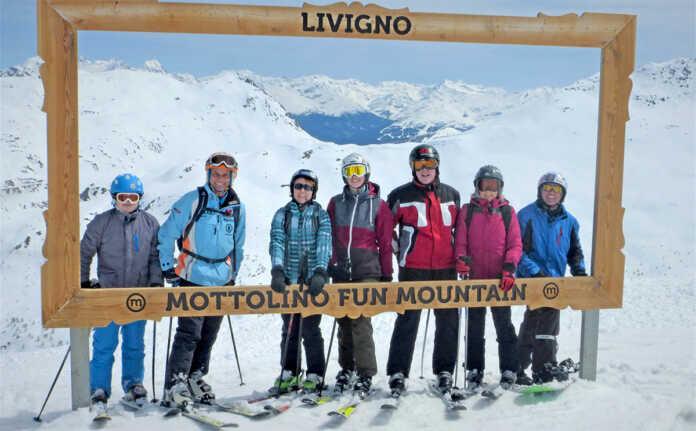Tolles Saisonfinale des TV Sinzig in Livigno