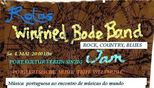 WINFRIED BODE BAND @ Portugiesisches Kulturzentrum | Sinzig | Rheinland-Pfalz | Deutschland