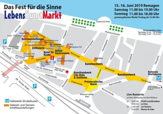 LebensKunstMarkt 2019 - Ein Wochenende wie im Süden @ Remagen | Remagen | Rheinland-Pfalz | Deutschland