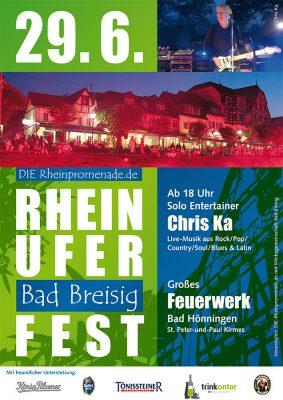 Rheinuferfest in Bad Breisig 2019 @ Rheinufer Bad Breisig | Bad Breisig | Rheinland-Pfalz | Deutschland