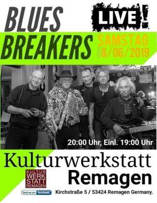 Bluesbreakers in der Kulturwerkstatt @ Kulturwerkstatt Remagen | Remagen | Rheinland-Pfalz | Deutschland