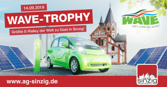 Größte E-Mobil Rallye der Welt zu Gast in Sinzig