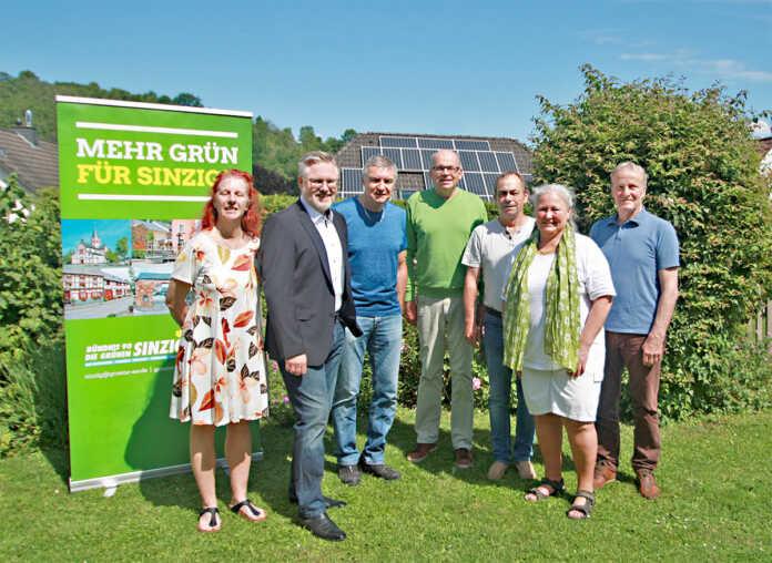 Konstituierende Fraktionssitzung der Grünen Abgeordneten für den Stadtrat Sinzig