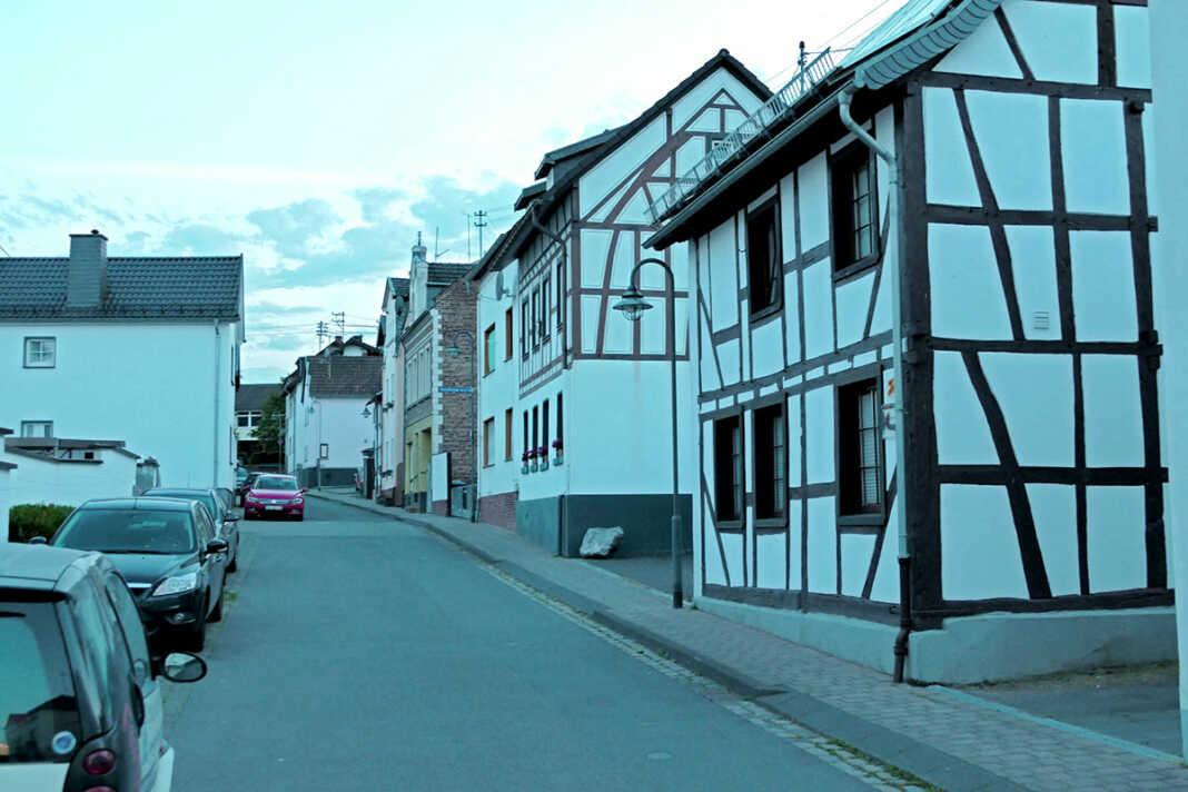 Die Krechelheimer Straße im Südwestfunk