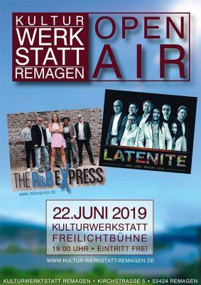 R&B Express und Latenite Open Air @ Kulturwerkstatt Remagen | Remagen | Rheinland-Pfalz | Deutschland