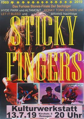 Sticky Fingers @ Kulturwerkstatt Remagen | Remagen | Rheinland-Pfalz | Deutschland
