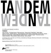"""""""TANDEM"""" zum LebensKunstMarkt 2019"""